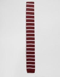 Трикотажный галстук Selected - Красный