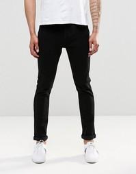 Черные узкие джинсы слим Only & Sons - Черный