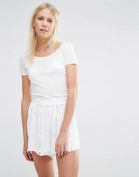 Укороченный топ Vero Moda - Белый