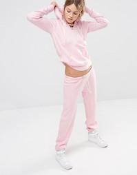 Бледно-розовые тренировочные брюки Ocean Drive - Бледно-розовый