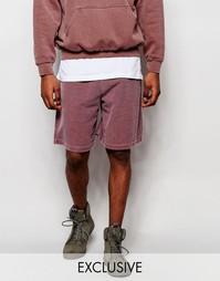 Крашеные шорты Reclaimed Vintage - Розовый