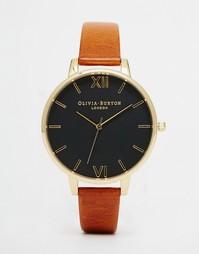 Часы с большим циферблатом Olivia Burton - Рыжий