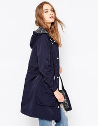 Легкая парка Parka London Dana - Indigo - индиго