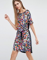 Платье-футболка в горошек PS by Paul Smith - 72 многоцветный