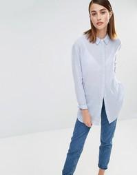 Рубашка в полоску с длинными рукавами Selected Crissie
