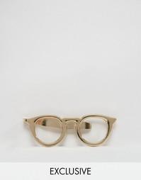 Зажим для галстука в стиле ретро Reclaimed Vintage - Золотой