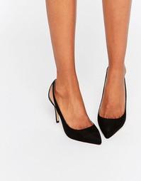 Туфли-лодочки с вырезами Faith - Черный