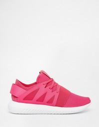 Розовые кроссовки adidas Original Tubular Viral - Розовый