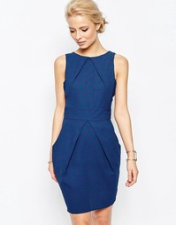 Синее платье-тюльпан Closet - Синий