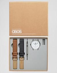 Часы со сменными ремешками ASOS - Мульти