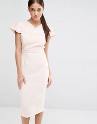 Платье-футляр Vesper - Телесный