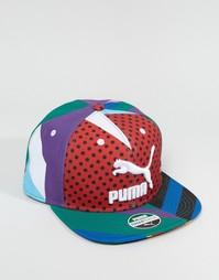 Разноцветная бейсболка Puma x Dee & Ricky 2103001 - Мульти