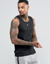 Черная майка Nike Jordan Jumpman Buzzer 589114-010 - Черный
