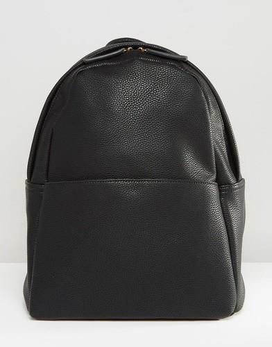 Черный рюкзак в минималистском стиле Glamorous - Черный