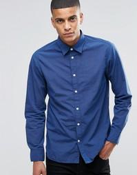 Рубашка слим Selected Homme - Синий