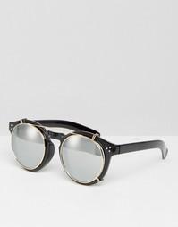 Круглые солнцезащитные очки с зеркальными стеклами Jeepers Peepers