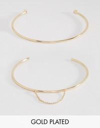 Набор браслетов на предплечье Johnny Loves Rosie Sofia - Золотой