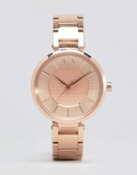 Часы цвета розового золота Armani Exchange Olivia AX5317