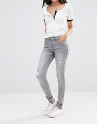 Рваные джинсы Noisy May Lucy 32 - Серый