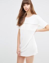 Платье мини Noisy May Assa - Белый