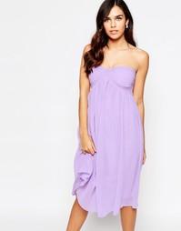 Платье-бандо Glamorous - Сиреневый