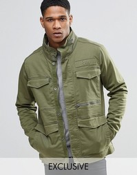 Стретчевая саржевая куртка в стиле милитари Only & Sons Field-A G Star