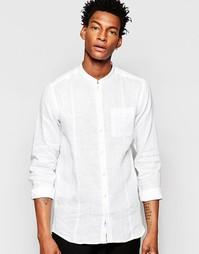 Рубашка с воротником с застежкой на пуговицах и карманом Minimum