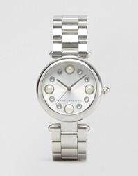 Серебристые часы Marc Jacobs MJ3475 - Серебряный