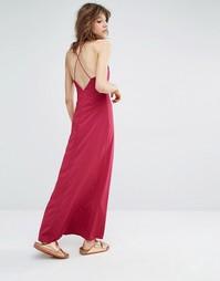 Платье макси Samsoe & Samsoe Cerena - Красный Samsøe &; Samsøe
