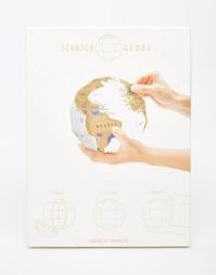Глобус со стираемый защитным слоем Luckies - Мульти Gifts