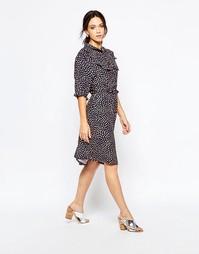 Платье с принтом Ivana Helsinki Saara - Разноцветный