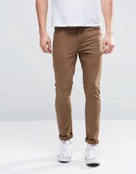 Супероблегающие джинсы цвета хаки ASOS - Ermine