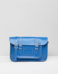 Портфель The Leather Satchel Company - Синий Oxford