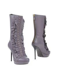 Фиолетовые Полусапоги и высокие ботинки Just Cavalli