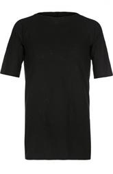 Хлопковая футболка с круглым вырезом Masnada