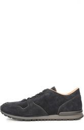 Замшевые кроссовки Tod's