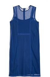 Полупрозрачное платье-миди без рукавов DKNY
