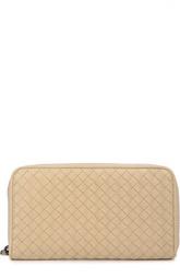 Кожаный кошелек на молнии Bottega Veneta