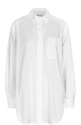 Удлиненная блуза прямого кроя с накладным карманом Denim&Supply by Ralph Lauren