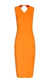 Платье-футляр без рукавов с открытой спиной Polo Ralph Lauren