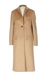Шерстяное пальто прямого кроя Valentino