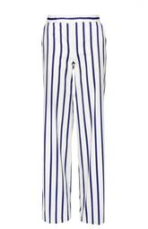 Прямые брюки в контрастную полоску Polo Ralph Lauren