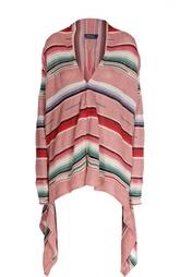Кардиган асимметричного кроя в полоску Polo Ralph Lauren