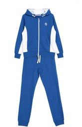 Хлопковый спортивный костюм с манжетами Dirk Bikkembergs