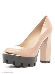 Бежевые Туфли Shelly