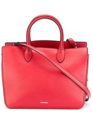 сумка-тоут с логотипом  Jil Sander