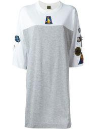 футболка свободного кроя  Mr & Mrs Italy