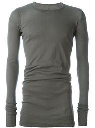 приталенная футболка с длинными рукавами Rick Owens DRKSHDW
