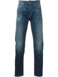 выбеленные джинсы  Levi's: Made & Crafted