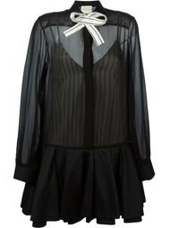 платье-рубашка с бантом Daniele Carlotta